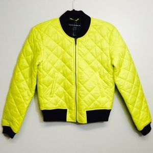 French Connection cropped puffer jacket